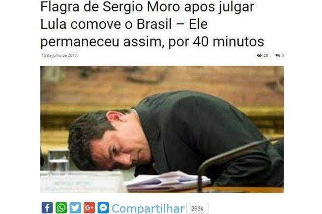 Boato do Sergio Moro na Bíblia